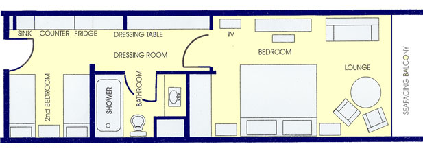 Bedroom Layout Two Beds